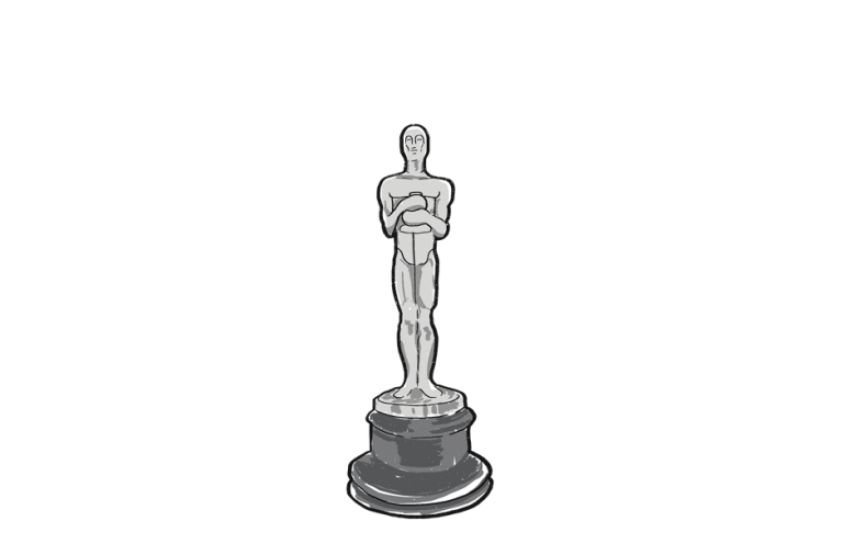 Academy Awards Oscar trophy