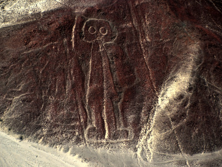 ancient drawings carved in stone