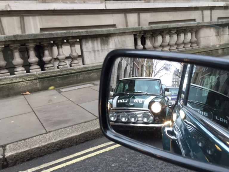 mini cooper car in London