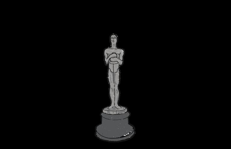 Academy Awards Oscar trophy