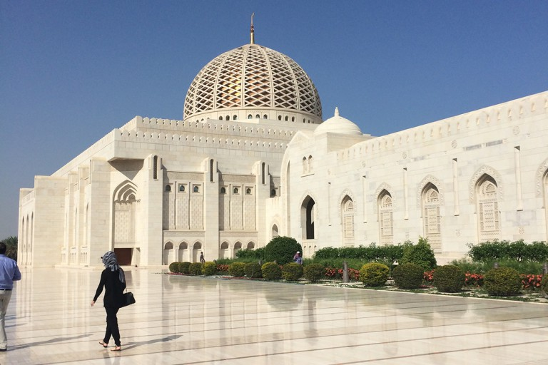 grand white mosque